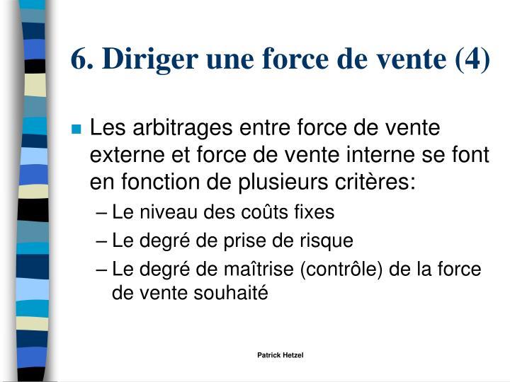 6. Diriger une force de vente (4)