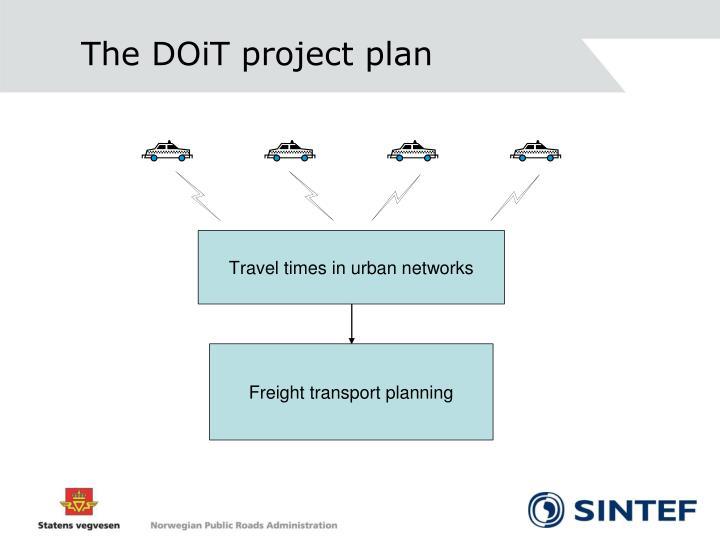 The DOiT project plan