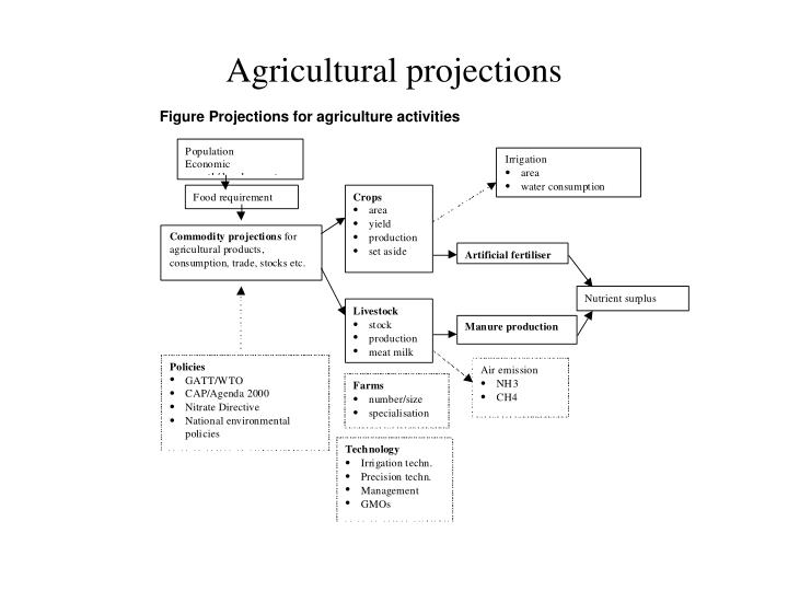 Agricultural projections