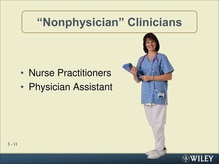"""Nonphysician"" Clinicians"