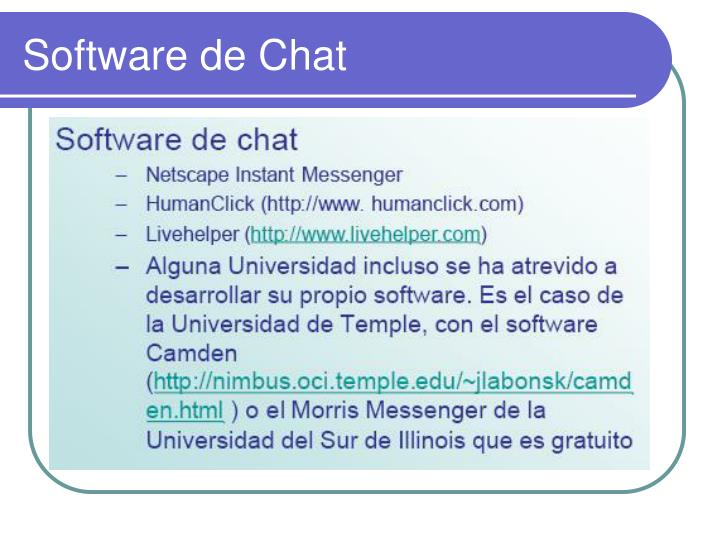 Software de Chat