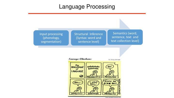 Language Processing