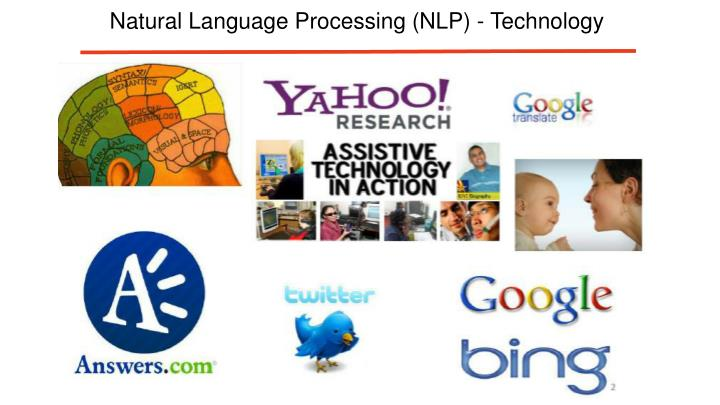 Natural Language Processing (NLP) - Technology