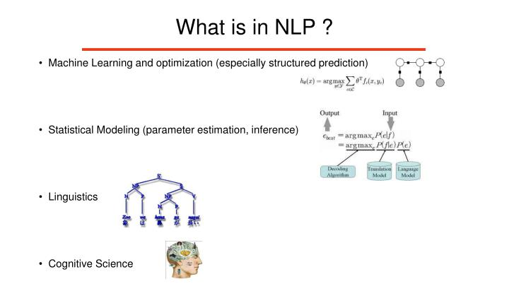 What is in NLP ?