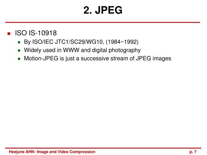 2. JPEG
