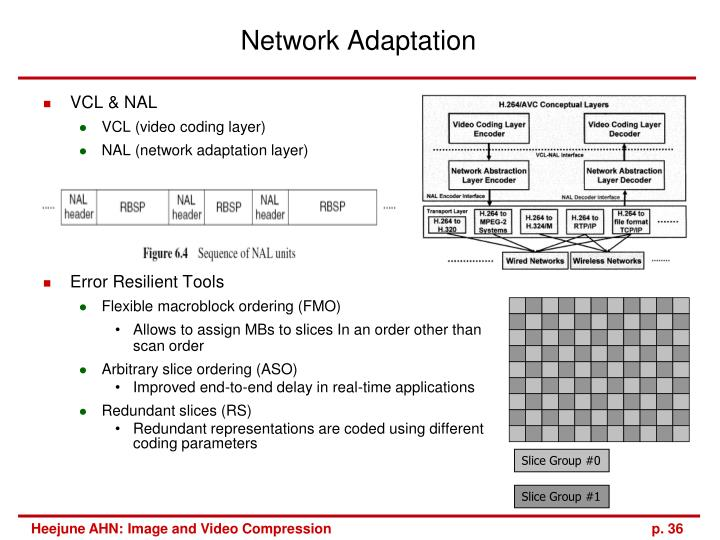 Network Adaptation