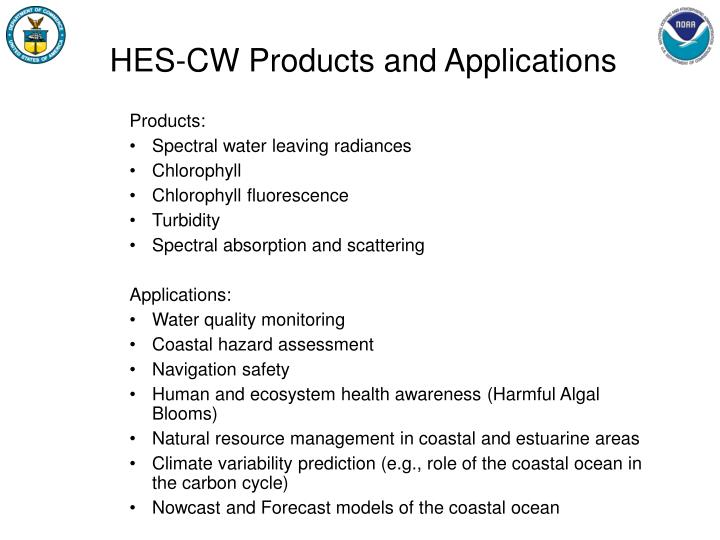 HES-CW Products and Applications