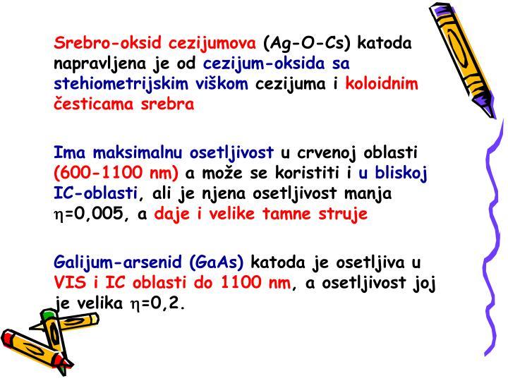 Srebro-oksid cezijumova