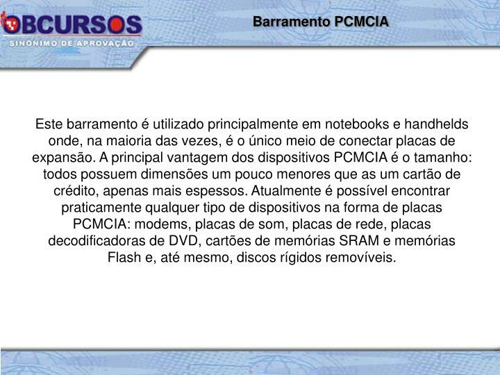 Barramento PCMCIA