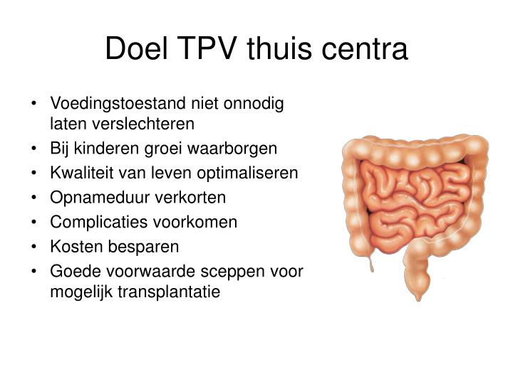 Doel TPV thuis centra