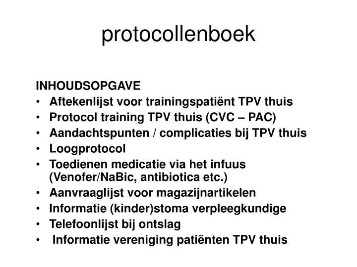 protocollenboek