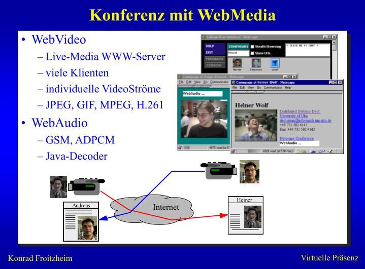 Konferenz mit WebMedia