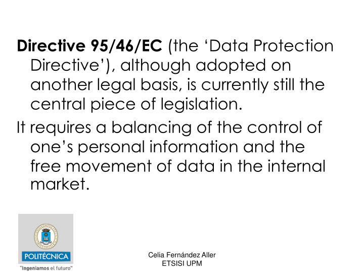 Directive 95/46/EC