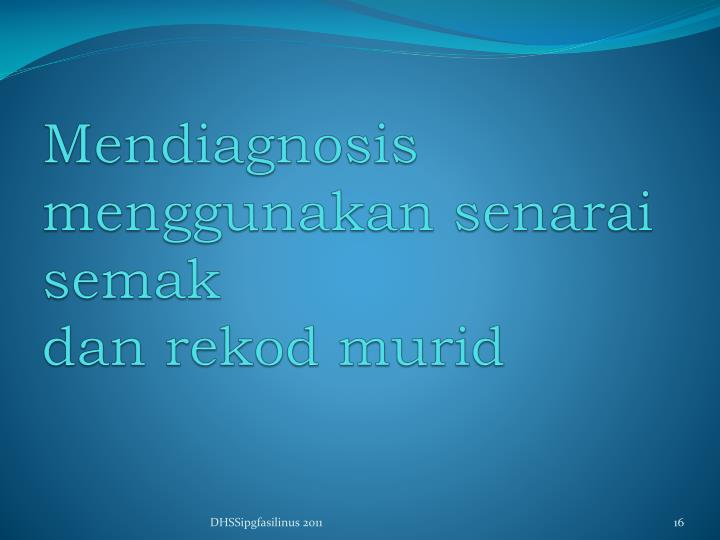 Mendiagnosis