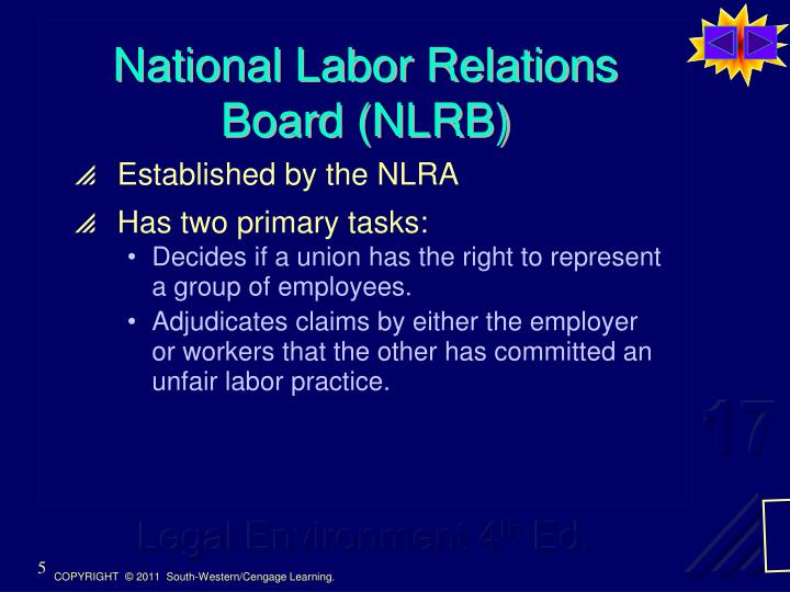 National Labor Relations Board (NLRB)