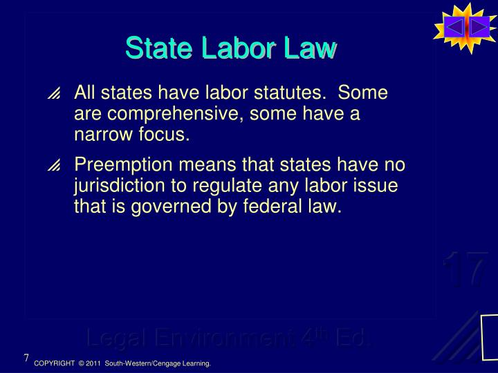 State Labor Law