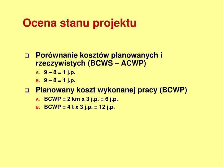 Ocena stanu projektu
