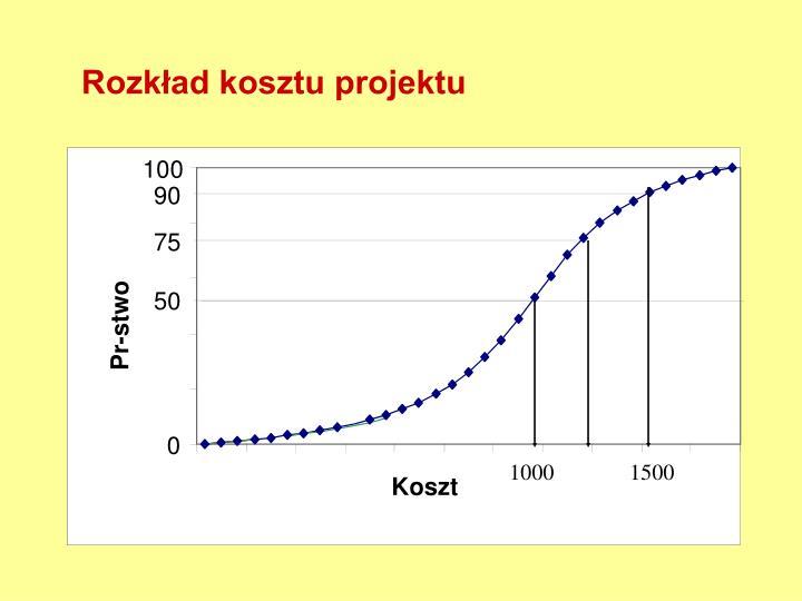 Rozkład kosztu projektu