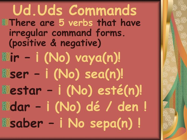 Ud.Uds Commands