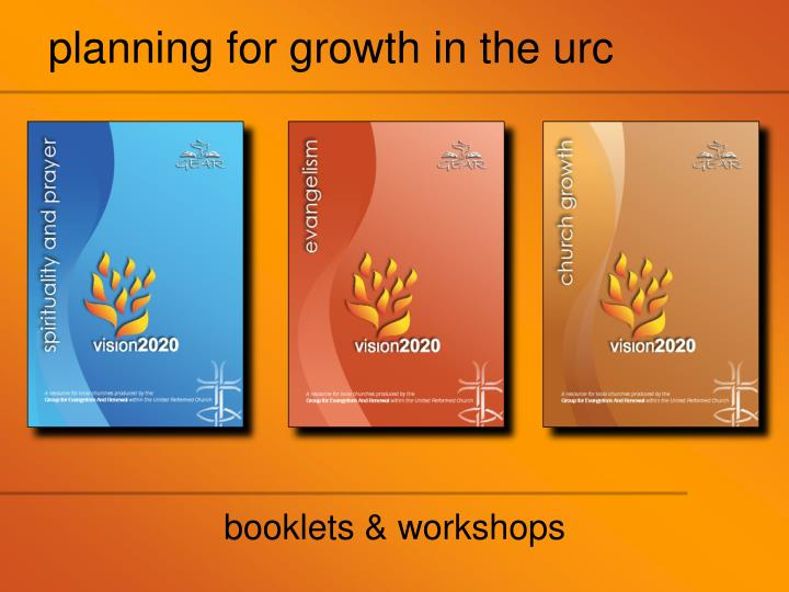 planning for growth in the urc