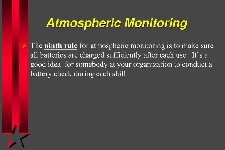 Atmospheric Monitoring