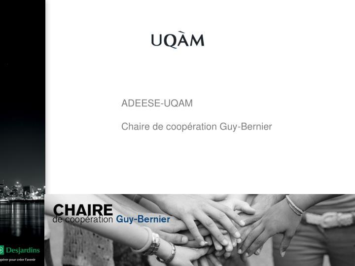 ADEESE-UQAM