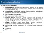 the impact on applications1