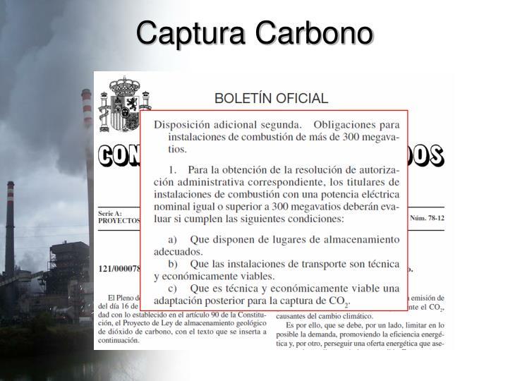 Captura Carbono