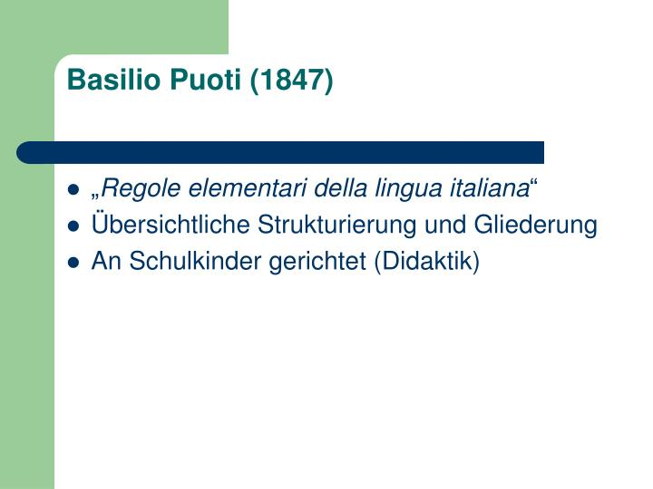 Basilio Puoti (1847)