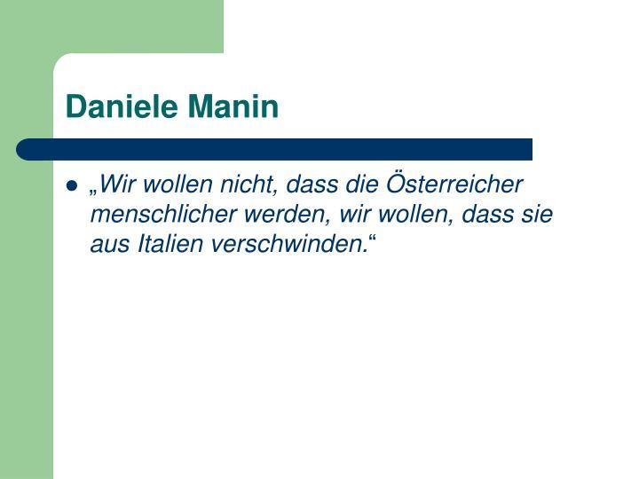 Daniele Manin