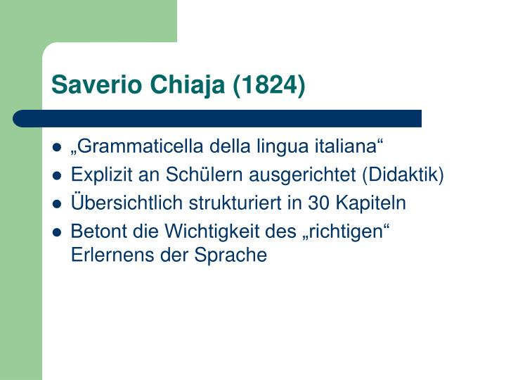 Saverio Chiaja (1824)