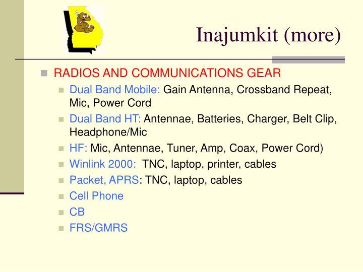 Inajumkit (more)