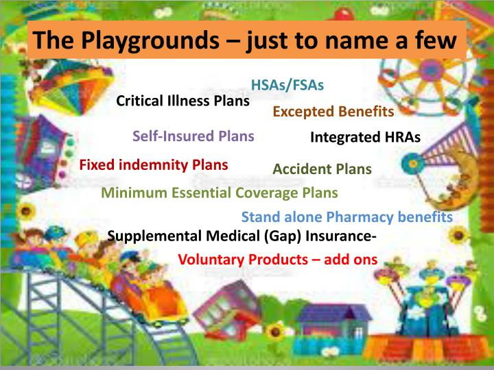 The Playgrounds – just to name a few