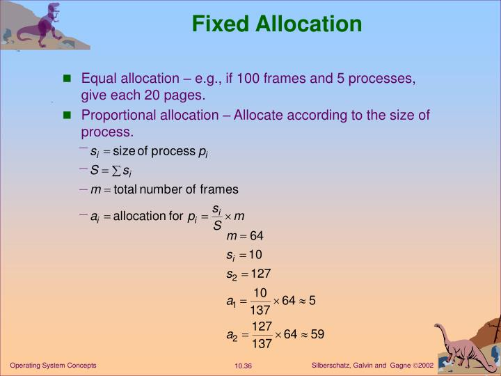 Fixed Allocation