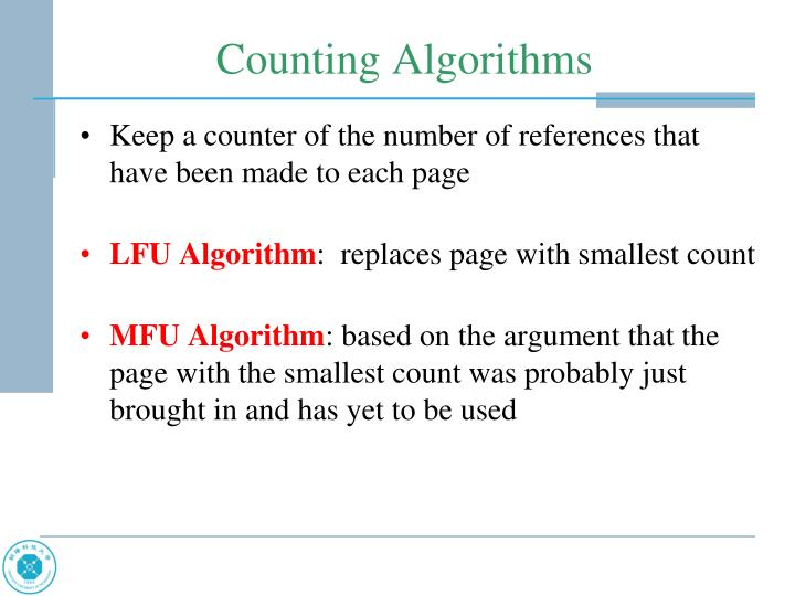Keep a counter of the number of references that have been made to each page