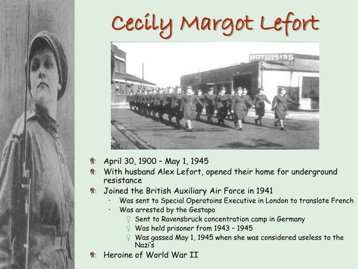 Cecily Margot Lefort