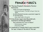 female nazi s