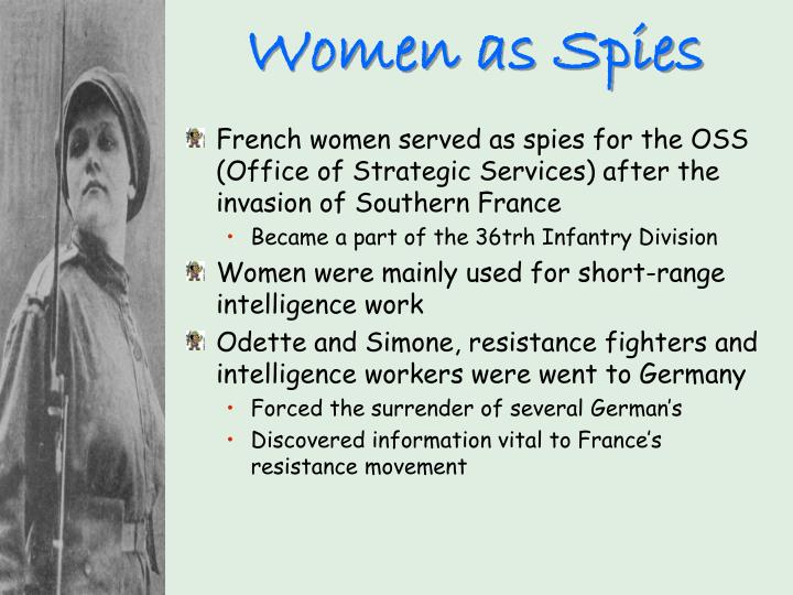 Women as Spies