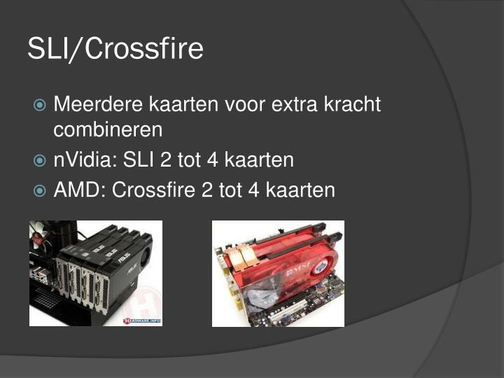 SLI/Crossfire