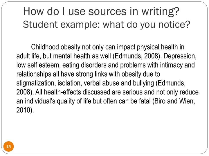 How many sources to use in an essay