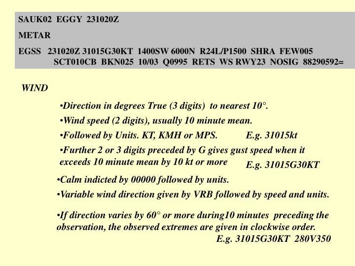 SAUK02  EGGY  231020Z