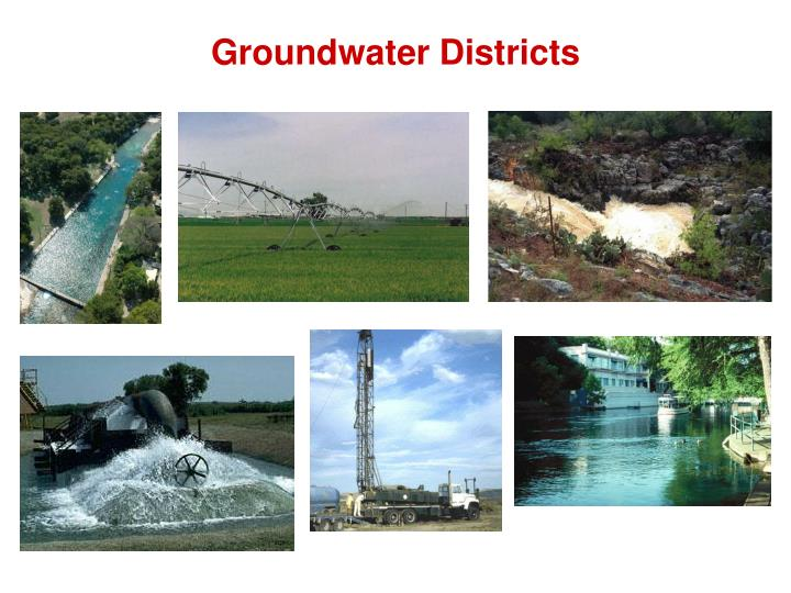 Groundwater Districts