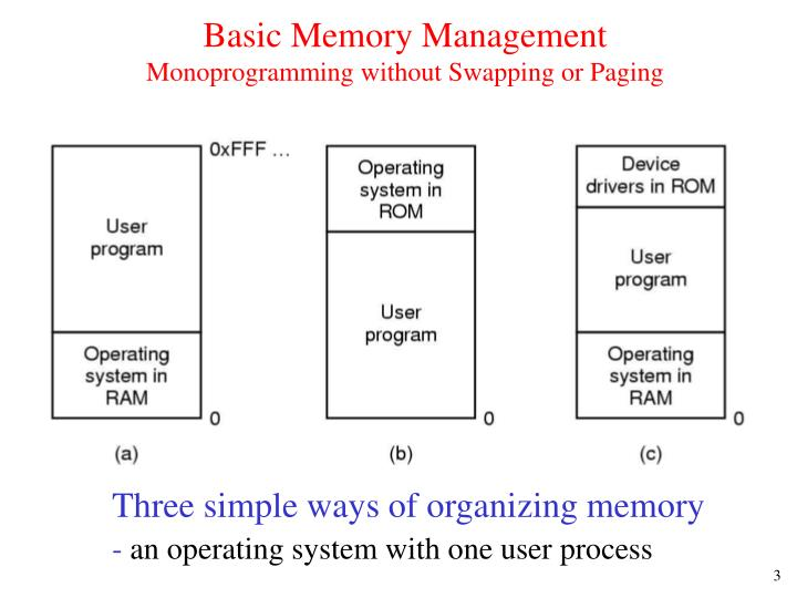 Basic Memory Management