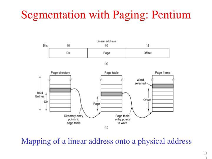 Segmentation with Paging: Pentium
