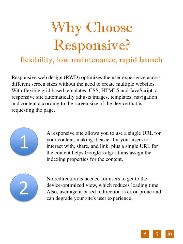 Why Choose Responsive?