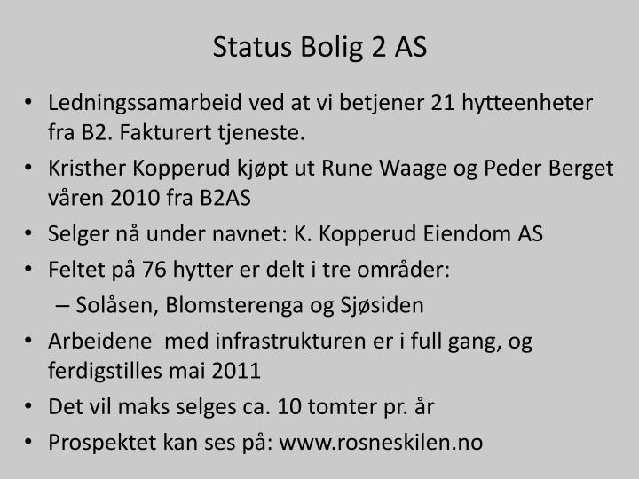 Status Bolig 2 AS