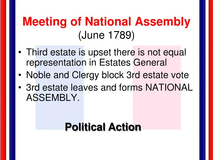 Meeting of National Assembly