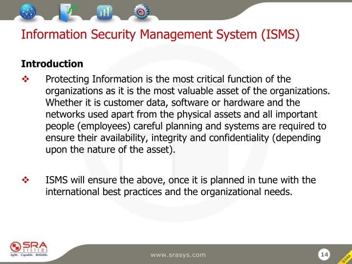 Information Security Management System (ISMS)
