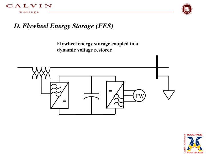 D. Flywheel Energy Storage (FES)