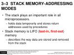 3 3 stack memory addressing modes